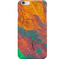 Sulfur crystals under a microscope iPhone Case/Skin