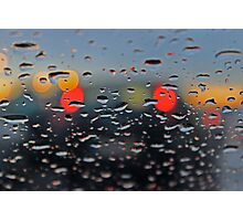 answering your call in the rain... Photographic Print
