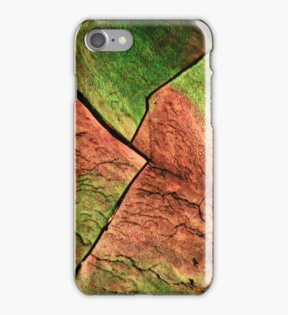 Sulfur under the microscope iPhone Case/Skin