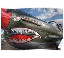 Curtiss P-40 Kittyhawk Poster