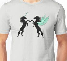 Unicorn vs. Pegasus Unisex T-Shirt