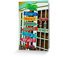 On island time Greeting Card