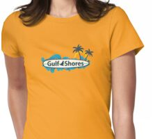 Gulf Shores - Alabama.  Womens Fitted T-Shirt