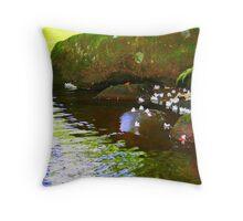 A Mossy wonder Throw Pillow