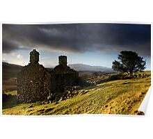 Bryn Eithin. An abandoned farmhouse - North Wales Poster