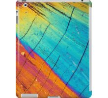 Thulium nitrate under the microscope iPad Case/Skin