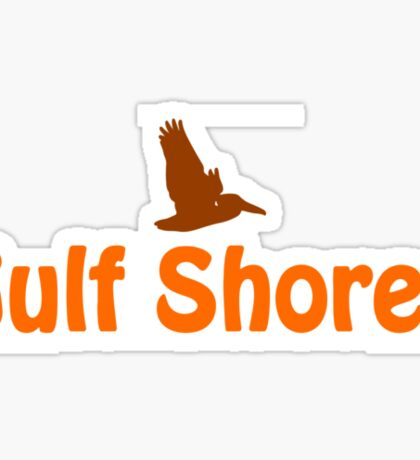 Gulf Shore - Alabama. Sticker