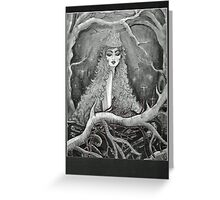 queen of the forest Greeting Card