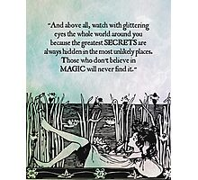 Roald Dahl - Watch with Glittering Eyes Photographic Print