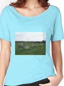 BOSCAWEN-UN STONE CIRCLE Women's Relaxed Fit T-Shirt