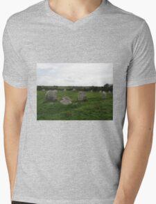 BOSCAWEN-UN STONE CIRCLE Mens V-Neck T-Shirt