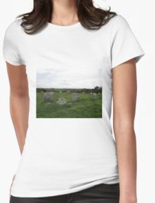 BOSCAWEN-UN STONE CIRCLE Womens Fitted T-Shirt