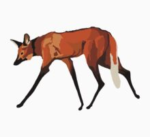 Maned Wolf One Piece - Long Sleeve