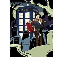 Dr.Who Photographic Print