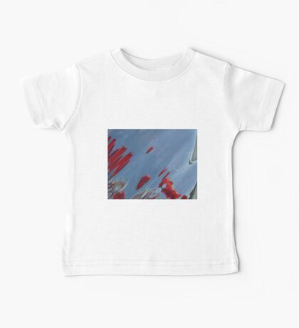 Tulips, Dorothy, Abstract Photography, Raw Image, Refraction through glass Baby Tee