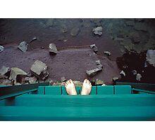 Feet Over Lake Superior - Minnesota Photographic Print
