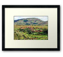 a large Malawi landscape Framed Print