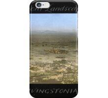 a large Malawi landscape iPhone Case/Skin