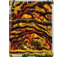 Mystical Forest Road Fine Art Print iPad Case/Skin