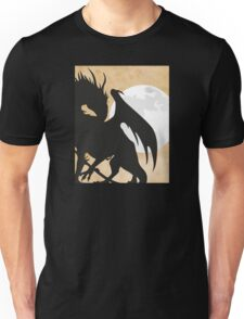 Tolkien - Smaug - Dragon against the Moon Unisex T-Shirt