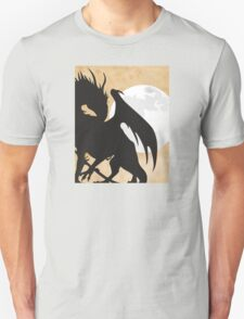 Tolkien - Smaug - Dragon against the Moon T-Shirt