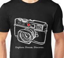 Leica M9 red dot rangefinder camera T-Shirt Unisex T-Shirt
