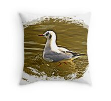 """Birds"" Throw Pillow"