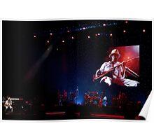 Paris - Carlos Santana Poster