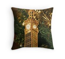 Christmas - Big Ben Throw Pillow