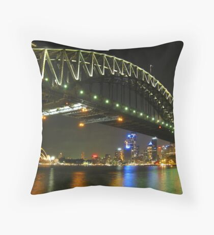 The Road to the Emerald City Throw Pillow