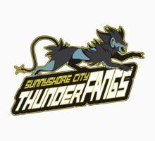 Sunnyshore City Thunder Fangs: Luxray Sports Logo by LyocoroUK