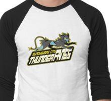 Sunnyshore City Thunder Fangs: Luxray Sports Logo Men's Baseball ¾ T-Shirt