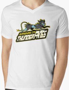 Sunnyshore City Thunder Fangs: Luxray Sports Logo Mens V-Neck T-Shirt