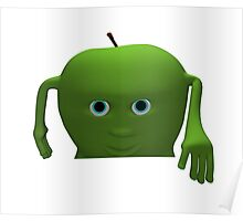 card apple for text Poster