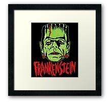 Mani-Yaks Frankenstein Framed Print