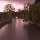 Dawn over the River Cam by Irina-C