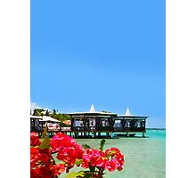 Postcard from Tahiti - Eden on Earth Photographic Print