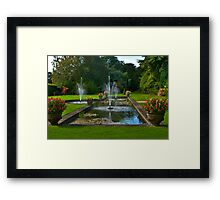 The Fountains Framed Print