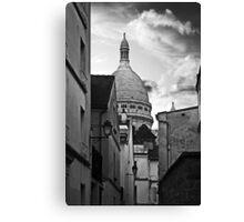 Montmartre streets Canvas Print