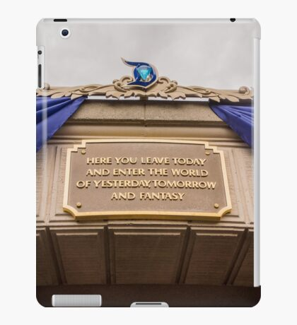 Diamond Celebration - Leave Today iPad Case/Skin