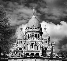 Basilica of the Sacré Cœur in Montmartre, Paris by Irina-C