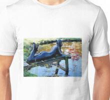 Lady in waiting.  Tauranga  New Zealand Unisex T-Shirt