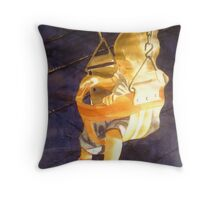 Swing : Leo, watercolor on paper Throw Pillow