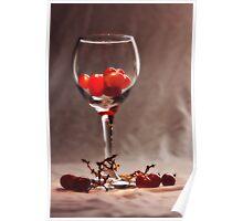 Red Vine Wine Poster
