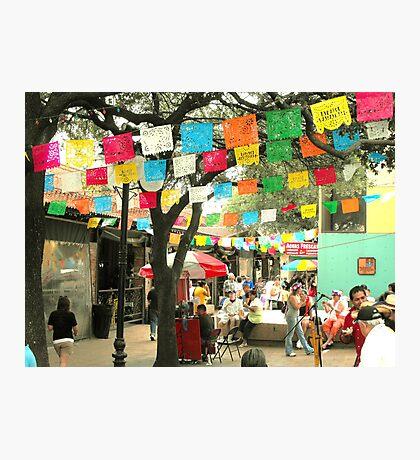Cinco de Mayo Celebration at Market Square (El Mercado) in San Antonio Photographic Print