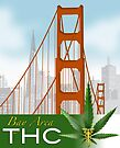 Bay Area THC logo II by Patricia Anne McCarty-Tamayo