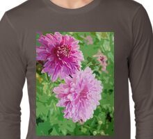 Lovely flowers for you. Long Sleeve T-Shirt