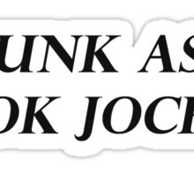 PUNK ASS BOOK JOCKEY Sticker
