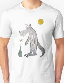 Romantic wolf Unisex T-Shirt