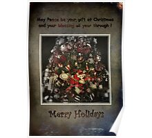 Merry Holidays Poster